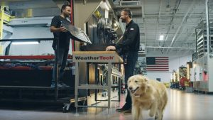 WeatherTech shelled out big for a Super Bowl commercial
