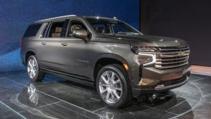 2021 Chevrolet Suburban starts at $52,995, no change from 2020