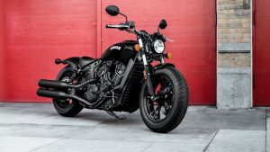 Indian Motorcycle debuts new blacked-out Scout Bobber Sixty