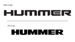 The electric Hummer gets a new logo