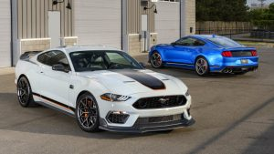 2021 Ford Mustang Mach 1 revealed with lots of Shelby-derived parts