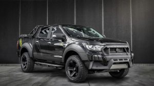 Carlex Design turned the Ford Ranger into a gargoyle