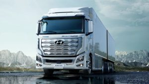 Hyundai ships Xcient Fuel Cell heavy duty truck to Europe