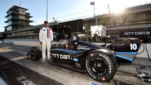 NASCAR champ Jimmie Johnson enamored with IndyCar after test