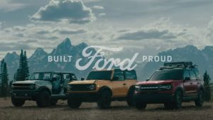 2021 Ford Bronco ad blitz kicks off with three spots titled 'Built Wild'