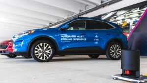 Ford, Bosch, and Bedrock announce automated valet parking garage in Detroit