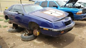 Junkyard Gem: 1987 Chrysler LeBaron Coupe