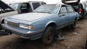 Junkyard Gem: 1987 Chevrolet Celebrity Sedan