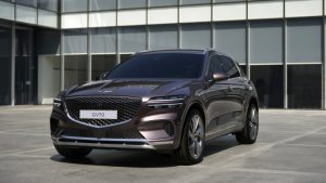 Genesis GV70 compact crossover revealed