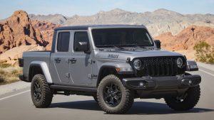 Jeep Gladiator Willys introduced for 2021