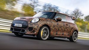 An electric Mini John Cooper Works model is in development