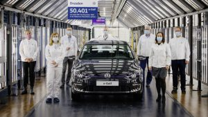 Volkswagen E-Golf production comes to an end