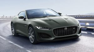 2021 Jaguar F-Type Heritage 60 Edition is fast, exclusive and green