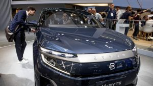 iPhone maker Foxconn to build electric SUVs with Byton