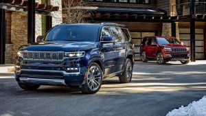 2022 Jeep Wagoneer is gigantic, luxurious and packing big V8 power