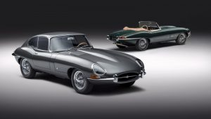 Jaguar celebrates 60 years of the E-Type with six pairs of resto-modded cars