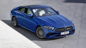 2022 Mercedes-Benz CLS-Class gets updated styling