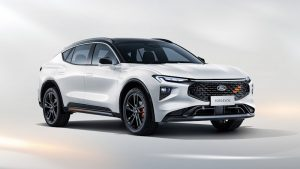 Ford Evos is a fusion of crossover and fastback genes for China
