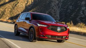 2022 Acura MDX named IIHS Top Safety Pick+