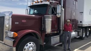 88-year-old commercial driver keeps on truckin', and earning praise for it
