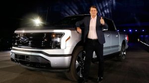Ford posts surprise profit as prices surge for scarce vehicles
