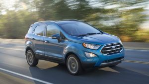 Ford EcoSport quits the U.S. market in 2022
