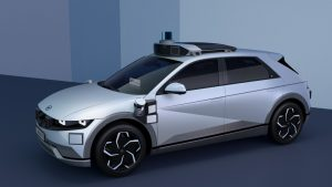 Hyundai Ioniq 5 reports for robotaxi duty with an armada of sensors